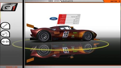 Ford GT40-Cammer V8 5,3 L