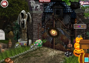 Jouer à Yolk Halloween scary palace escape