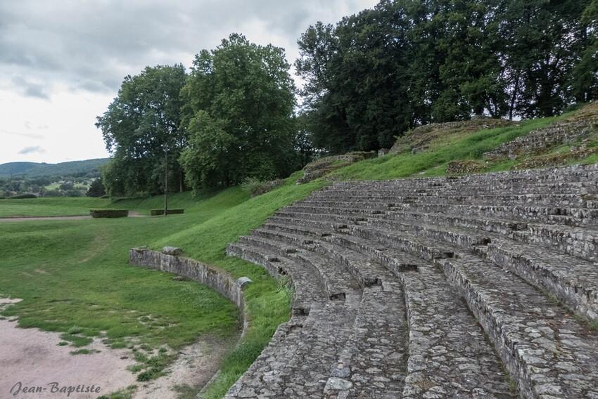 Théâtre romain à Autun,