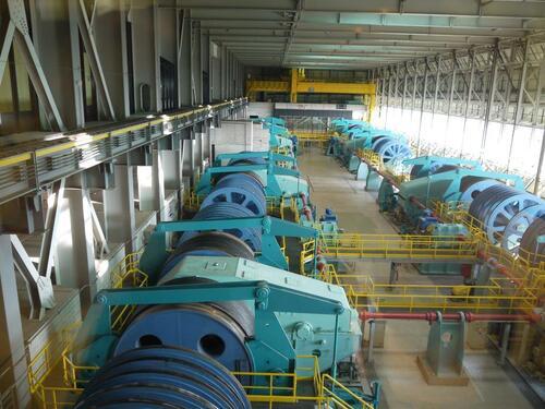 Salle des machines