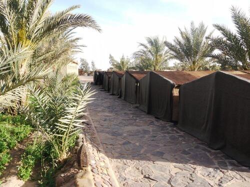 Les petites tentes