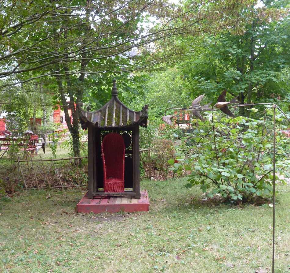 Le  jardin de Fu Xi (domaine de Chanteloup).
