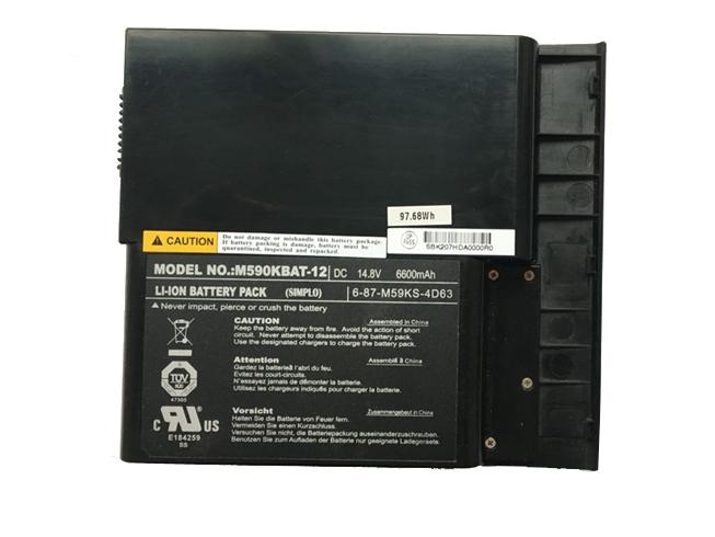 Batterij CLEVO 6-87-M59KX-4K62