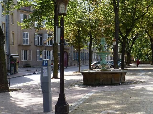 Fontaine du quai Félix Maréchal 1 Marc de Metz 2011