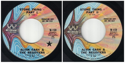 ALVIN CASH - WESTBOUND RECORDS W-159