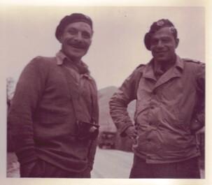 Etape n° 18 - 27-28 Septembre 1944 - Le B.M. 21 et les Fusiliers Marins montent ensemble à l'assaut de Clairegoutte et de Frédéric-Fontaine