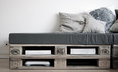 Sommier En Palettes De Bois le sommier d'un lit avec des palettes en bois et autres astuces