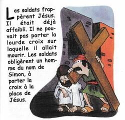 Leçon biblique préscolaire: Jésus est crucifié