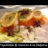 saumon papillotte badiane