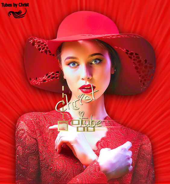 Femme au Chapeau rouge.