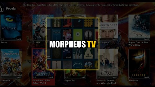 What Is Morpheus TV for android?