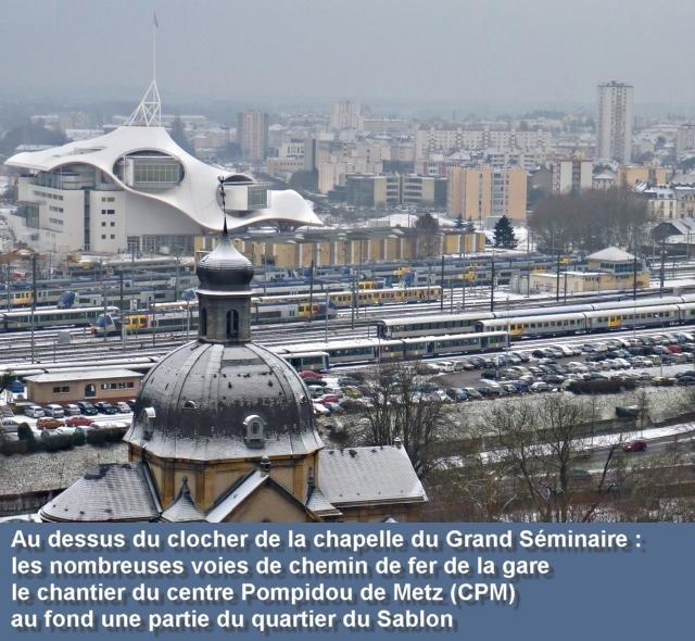 Vue aérienne de Metz janvier 7 09 01 2010