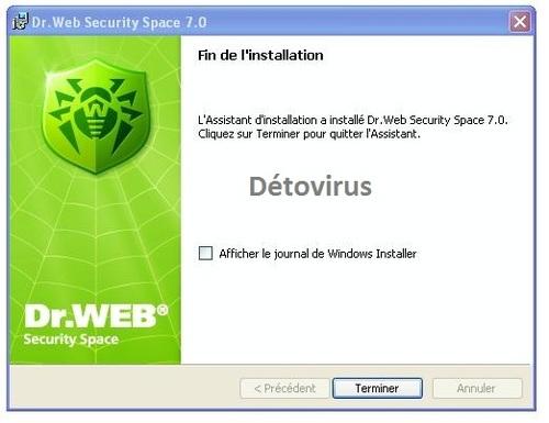 Dr.Web Security Space 7.0 - Licence 90 jours gratuits