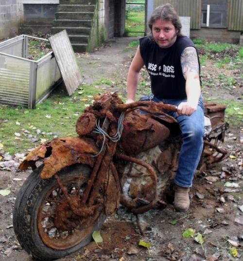 Archéologie motocycliste