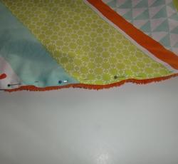Tuto : Une serviette de plage ronde