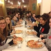 ultima cena con la pizza