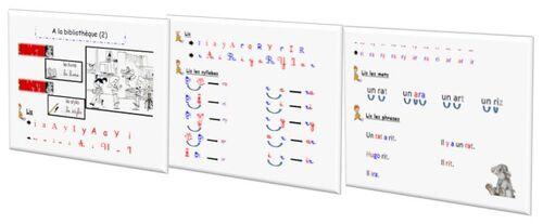 Taoki : fichier de lecture du soir version dys