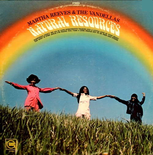 "Martha Reeves & The Vandellas : Album "" Natural Resources "" Gordy Records GLPS 952 [ US ]"