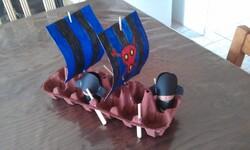 Arts Visuels: le bateau pirate