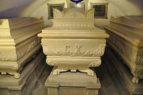 14 Monastere de Castagnavizza Le tombeau de Charles X