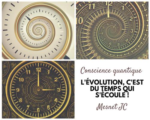 L'évolution est une dimension temporelle !
