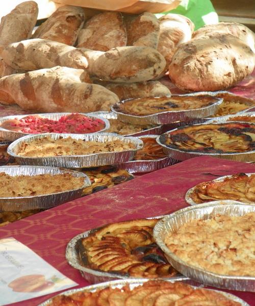 La fête du cidre à Arnand