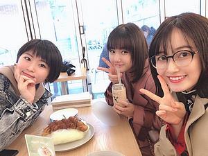 Dîner avec Kaga et Morito