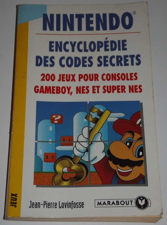 h guide Nintendo Encyclopédie des codes secrets