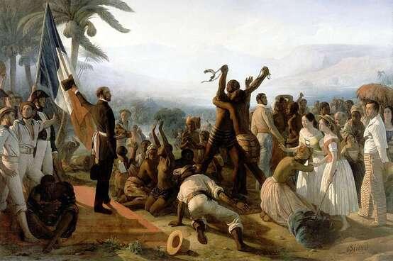 Histoire des Arts 4ème # L'abolition de l'esclavage