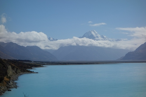 Direction le Mount Cook