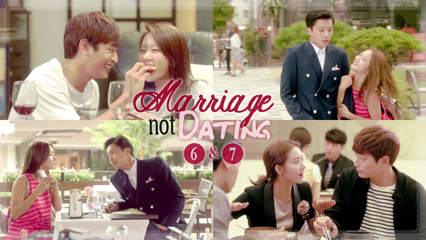 Sortie : Marriage Not Dating 6 & 7 Vostfr