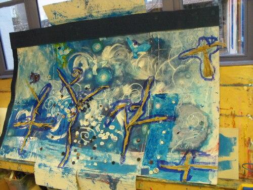 Les élèves s'emparent de l'univers de Marie Morel
