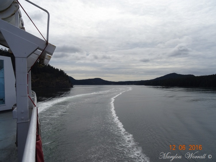 Nouvelles du Canada 104 : La traversée vers Victoria
