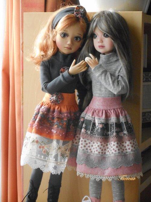 Iris et Flora ont leur nouvelle tenue
