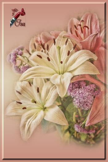 FL0055 - Tube fleurs misted