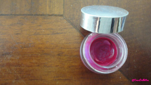 Un lip-baum gloss home made