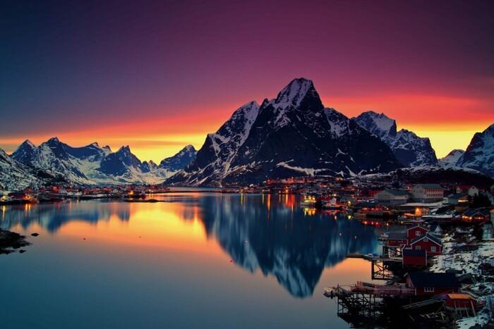 Balade En Norvège - Pays Situé En Europe Du Nord -