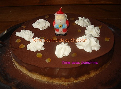 Tarte Gourmande au Chocolat 10