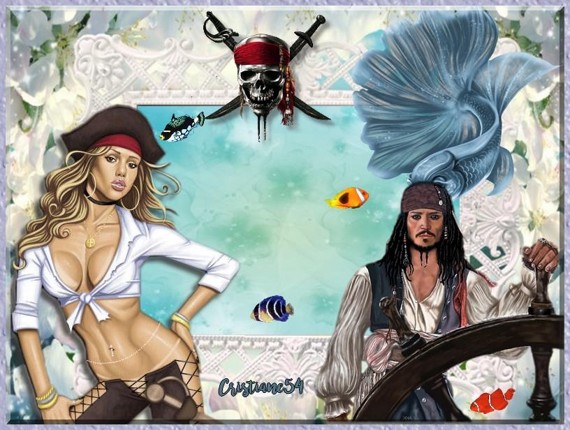 Pour toi ma soeurette chérie ,ton défi Pirate !