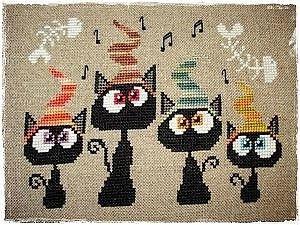 Sal quatuor de chats de Ana Barbera