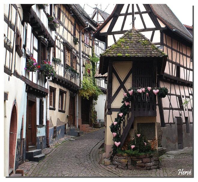 Marché de Noël à Eguisheim 2/2.