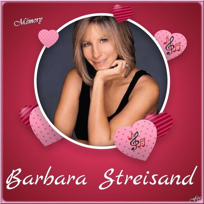 """Brabra Streisand """"Woman In Love"""" """" & Mémory"""