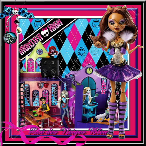 créa perso  défi : monster high