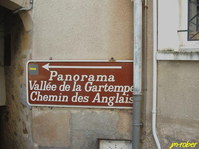 Chateauponsac, la ville sur ses hauteurs surnommée la perle de la la Gartempe