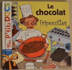 Sélection de livres pour enfants sur le CHOCOLAT