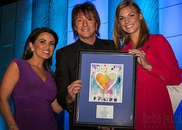 Richie honoré du Special Celebrity Philanthropist Award