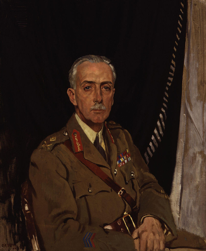 Sir William Orpen , Charles Sackville West 4th Baron Sackville