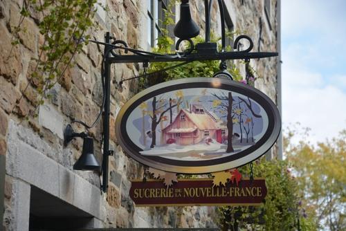 Quebec rue sous le fort