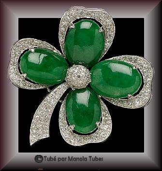Tube bijoux St Patrick 2989