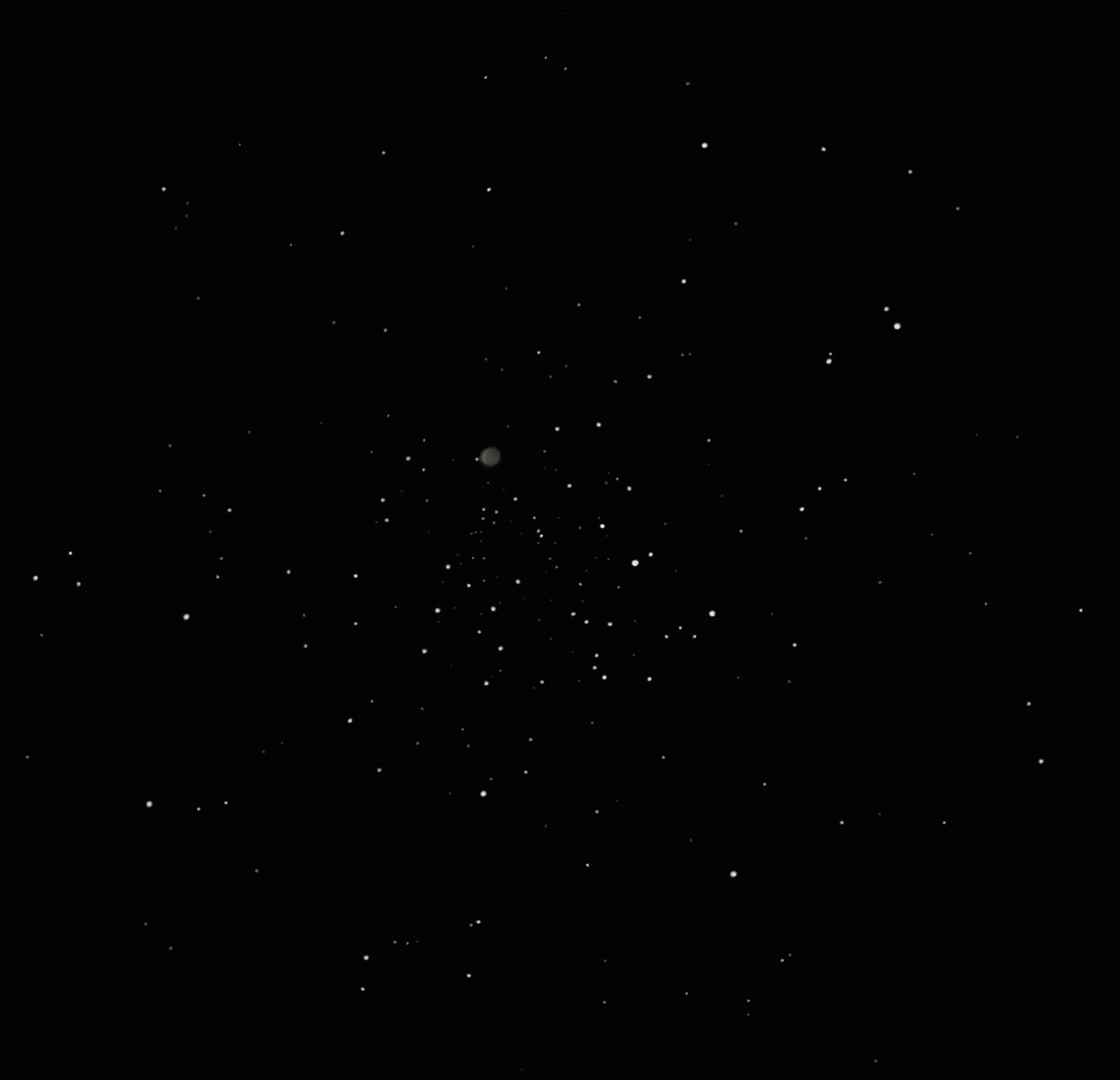 M46 open cluster